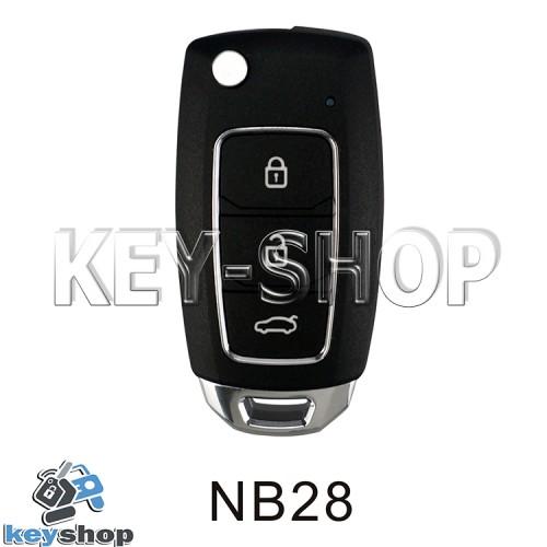 Ключ заготовка (NB 28) для программатора KEYDIY KD-X2