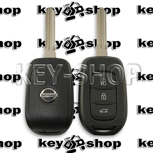 Корпус автоключа NISSAN (Ниссан) 3 кнопки