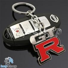 Металлический брелок для авто ключей Nissan GTR (Ниссан)