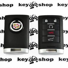 Оригинальный смарт ключ Кадиллак (Cadillac) Escalade, SRX, CTS, ATS 4+1 кнопки, ID46, 315 MHz