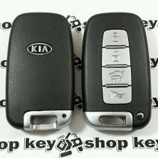 Оригинальный смарт ключ для KIA Forte, Cerato, Ceed, Koup (Киа Форте, Черато) 4 кнопки, с чипом ID46\434Mhz