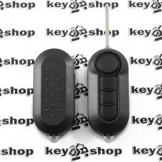 Корпус выкидного ключа для PEUGEOT (Пежо), 3 кнопки, лезвие SIP 22, тип 3