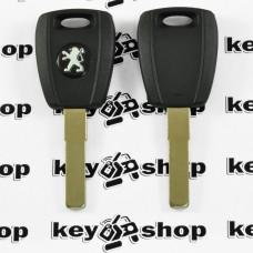 Корпус авто ключа под чип для Peugeot (Пежо), лезвие SIP22