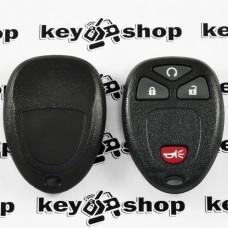 Оригинальный пульт для Понтиак (Pontiac), 3 + 1 (panica) кнопки, 315MHz, FCCID: KOBGT04A