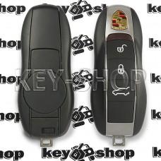 Корпус смарт ключа для Porsche (Порше) 3 кнопки , лезвие HU66