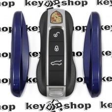 Вставка (синяя) для смарт ключа Porshe (Порше)