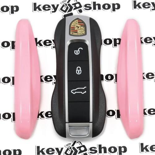 Вставка (розовая) для смарт ключа Porshe (Порше)