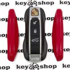 Вставка (красная) для смарт ключа Porshe (Порше)