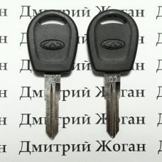 Корпус авто ключа под чип для Chery (Чери) (Q3)