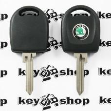 Корпус авто ключа под чип для SKODA (шкода), лезвие SK22
