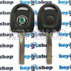 Корпус авто ключа под чип для SKODA (шкода) , лезвие HU162