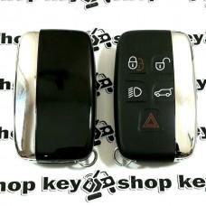 Смарт ключ для Jaguar (Ягуар) 4+1 кнопки, 433MHz, с чипом id47(PCF7953)