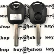 Корпус автоключа для Ssang-Yong Rexton, Actyon, Kyron, Korando (Санг Йонг) 2 - кнопки, TOY40
