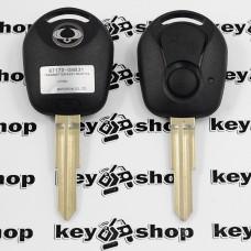 Корпус автоключа для Ssang-Yong Rexton, Actyon, Kyron, Korando (Санг Йонг) 2 - кнопки