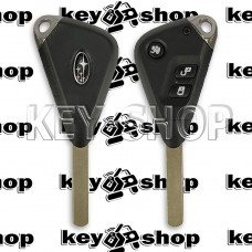Автоключ для SUBARU (Субару) 3 - кнопки, чип ID 4D62, 433 Mhz