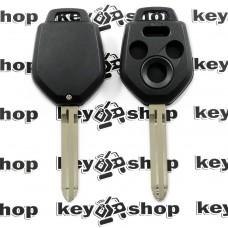 Корпус автоключа для SUBARU (Субару) 3 + 1 кнопка, лезвие TOY 43R