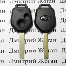 Корпус ключа для Subaru (Субару) 2 - кнопки, лезвие DAT17