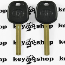 Корпус авто ключа под чип для Toyota (Тойота), лезвие TOY40