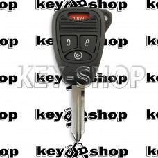 Корпус ключа для Jeep, Dodge, Chrysler (Джип, Додж, Крайслер) 3 + 1 (panic)