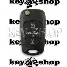 Корпус выкидного ключа Hyundai (Хундай) 2 кнопки (без лезвия)