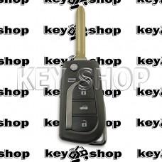 Корпус выкидного ключа Toyota (Тойота) трещина на задней крышке