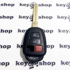 Корпус автоключа Toyota (Тойота) 3+1 - кнопки (без кнопки багажник)