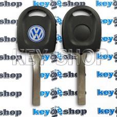 Корпус авто ключа под чип для Volkswagen (Фольксваген) лезвие HU162