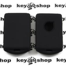 Чехол (черный, силиконовый) для смарт ключа Volvo (Вольво)