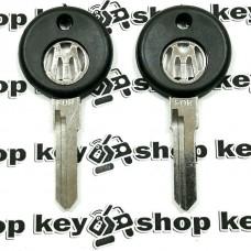 Ключ для VOLKSWAGEN (фольксваген), лезвие HU49 (обратное), без места под чип
