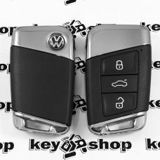 Оригинальный корпус смарт ключа для Volkswagen (Фольксваген) 3 кнопки