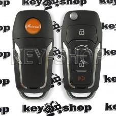 Универсальный автоключ для программатора XHorse Superchip (XEFO01EN) 3 + 1 кнопки