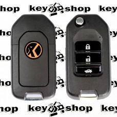 Универсальный автоключ для программатора XHorse, Honda Style Wireless (XN004) 3 кнопки