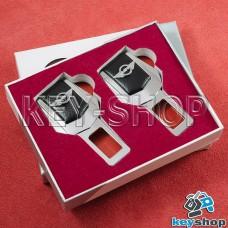 Заглушки ремней безопасности (с кожаными вставками) для Mini (Мини)