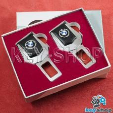 Заглушки ремней безопасности (с кожаными вставками) для BMW (БМВ)