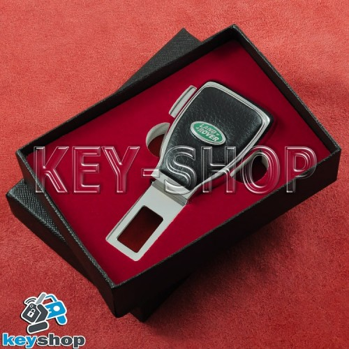 Заглушка-переходник ремня безопасности (с кожаными вставками) для Land-Rover (Ленд Ровер)
