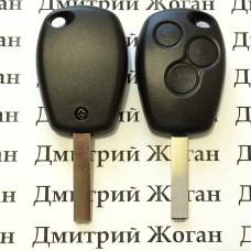 Корпус автоключа Opel (Опель) - 3 кнопки лезвие VA2