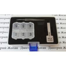 Ключ для нарезки автоключа по коду и замку с лезвием HU 92