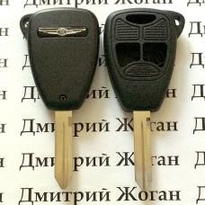 Корпус автоключа для Chrysler (Крайслер) 2 кнопки +1 (panic)