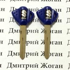 Ключ (синий) для мотоцикла Suzuki GSX, GSX R, Hayabusa (Сузуки), лезвие SR17R