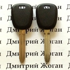 Корпус авто ключа под чип для Suzuki Liana (Сузуки Лиана), лезвие TOY43