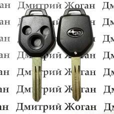 Корпус автоключа для SUBARU (Субару) 3 - кнопки, лезвие NSN14