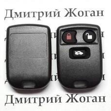 Корпус пульта для Jaguar (Ягуар) 3 кнопки