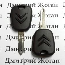 Корпус авто ключа под чип для Citroen (Ситроен) лезвие NE73