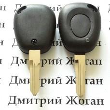 Корпус ключа для  Renault Laguna (Рено Лагуна)1 - кнопка, лезвие VAC102