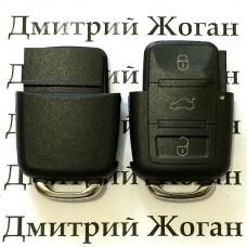 Корпус нижней части выкидного ключа для Seat (Сеат) , 3 - кнопки
