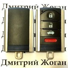 Корпус смарт ключа Acura (Акура)  - 3+1 кнопки