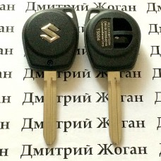 Корпус автоключа Suzuki Liana, Swift (Сузуки Лиана, Свифт), лезвие TOY43 - 2 кнопки