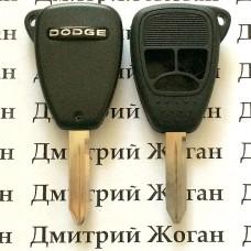 Корпус автоключа для Dodge (Додж) 3 кнопки