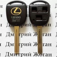 Корпус для автоключа LEXUS (Лексус) 3 - кнопки, лезвие TOY40