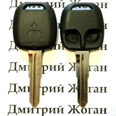 Корпус авто ключа Mitsubishi Lancer (Мицубиси Ланцер) 2 - кнопки
